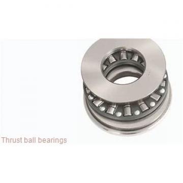 207 mm x 280 mm x 24 mm  KOYO 239740B thrust ball bearings