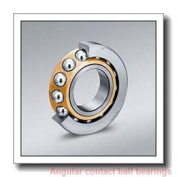 20 mm x 72 mm x 19 mm  ISO 7404 B angular contact ball bearings