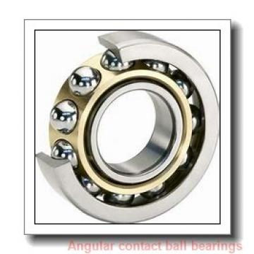 160 mm x 215 mm x 28 mm  KOYO AC3222B angular contact ball bearings