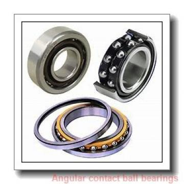 105 mm x 190 mm x 36 mm  NACHI 7221 angular contact ball bearings