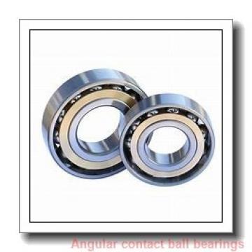 35 mm x 72 mm x 27 mm  NSK 5207 angular contact ball bearings