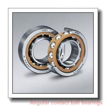 34 mm x 67 mm x 37 mm  Fersa F16083 angular contact ball bearings