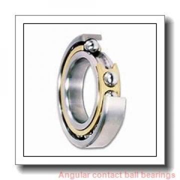 12 mm x 21 mm x 7 mm  ZEN 3801-2RS angular contact ball bearings