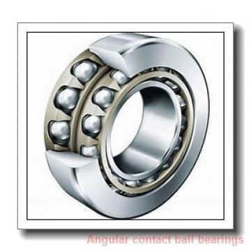 30 mm x 151,8 mm x 55,6 mm  PFI PHU2178 angular contact ball bearings