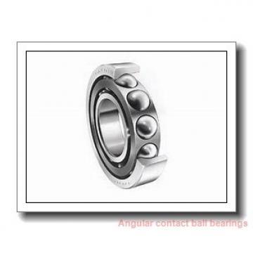 35 mm x 66 mm x 37 mm  SNR GB12136 angular contact ball bearings