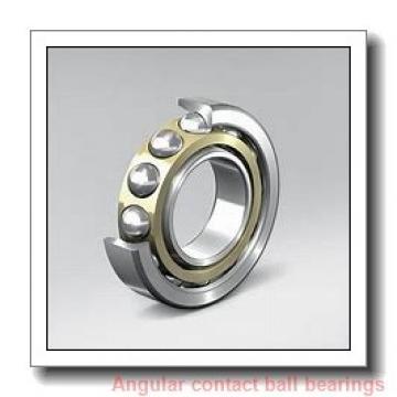 10 mm x 30 mm x 14,3 mm  PFI 5200-2RS C3 angular contact ball bearings