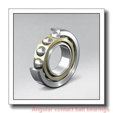 40 mm x 80 mm x 18 mm  NKE QJ208-MPA angular contact ball bearings