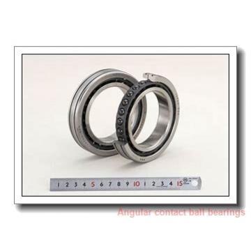 40 mm x 80 mm x 36 mm  Fersa F16090 angular contact ball bearings