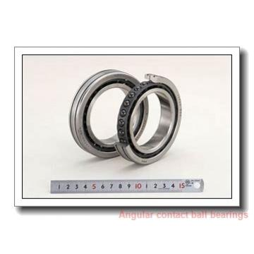 42 mm x 75 mm x 37 mm  PFI PW42750037CS angular contact ball bearings