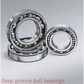 8 mm x 12 mm x 3,5 mm  ZEN SMF128-2Z deep groove ball bearings