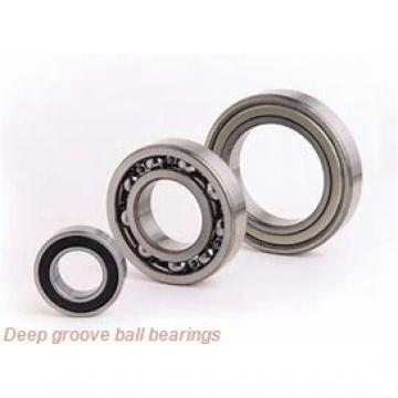 25 mm x 59 mm x 17,5 mm  Fersa F18019 deep groove ball bearings