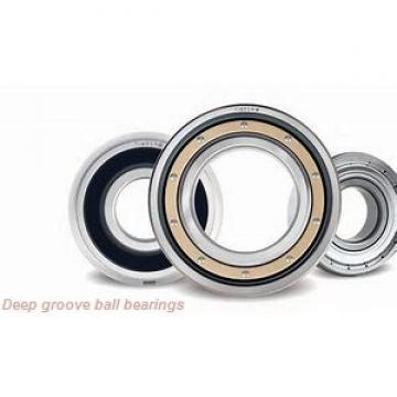 1,5 mm x 4 mm x 1,2 mm  ZEN SF681X deep groove ball bearings