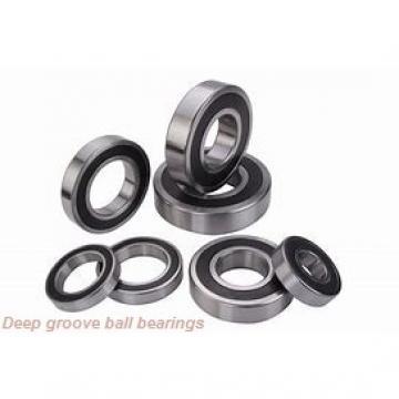5 mm x 13 mm x 5 mm  NTN WBC5-13ZZ deep groove ball bearings