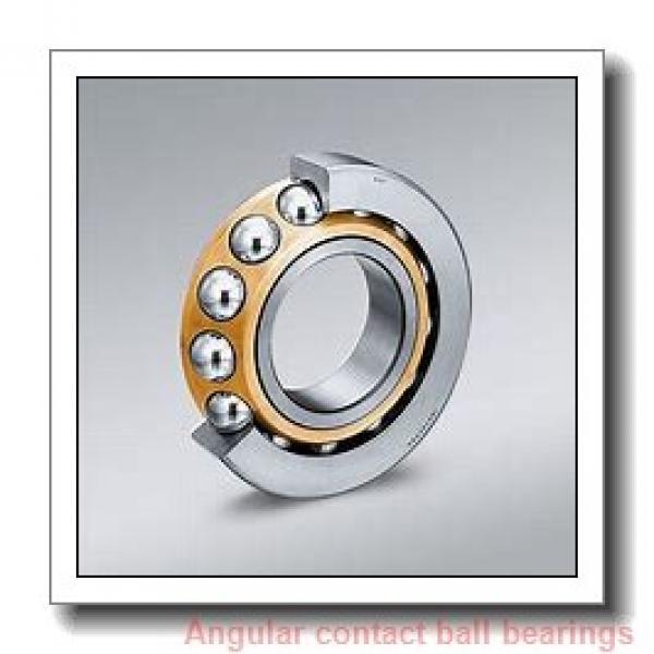 30 mm x 62 mm x 23.8 mm  NACHI 5206AZ angular contact ball bearings #1 image