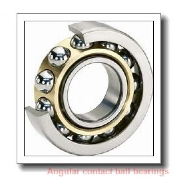 160 mm x 215 mm x 28 mm  KOYO AC3222B angular contact ball bearings #1 image