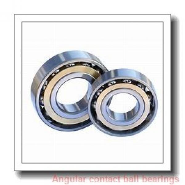 70 mm x 125 mm x 24 mm  FAG B7214-E-2RSD-T-P4S angular contact ball bearings #1 image