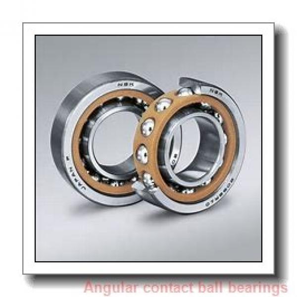20 mm x 52 mm x 15 mm  NACHI 7304DB angular contact ball bearings #1 image