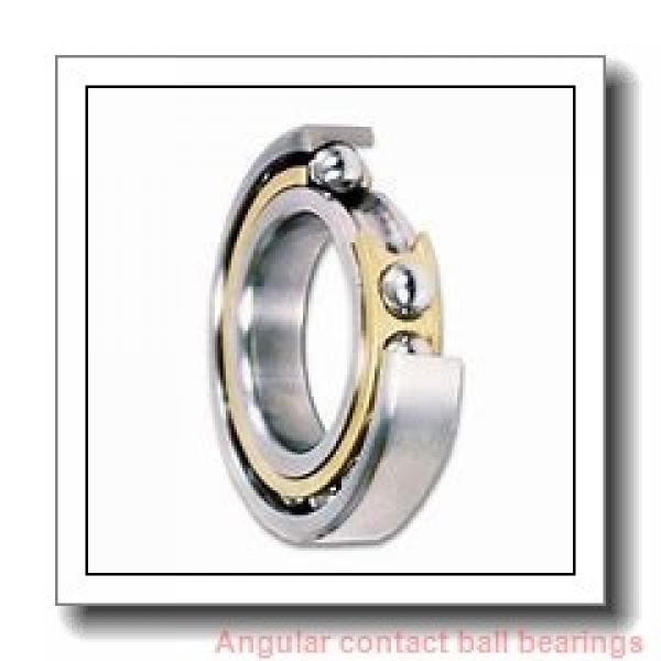 95 mm x 170 mm x 32 mm  NACHI 7219C angular contact ball bearings #1 image
