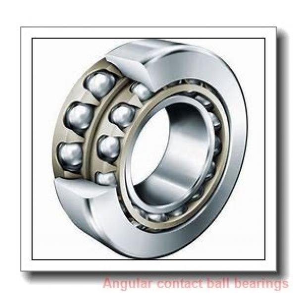 70 mm x 125 mm x 24 mm  NACHI 7214BDB angular contact ball bearings #1 image