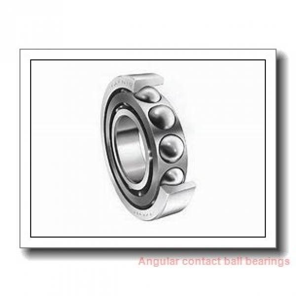 34,925 mm x 88,9 mm x 22,23 mm  SIGMA MJT 1.3/8 angular contact ball bearings #1 image