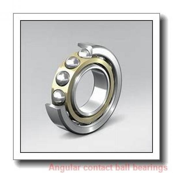 35 mm x 72 mm x 26,988 mm  FBJ 5207 angular contact ball bearings #1 image