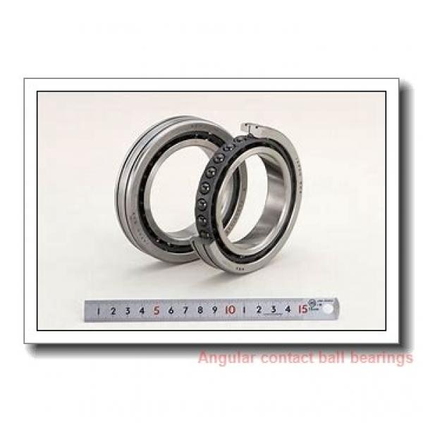 100 mm x 215 mm x 82,6 mm  FAG 3320-M angular contact ball bearings #1 image
